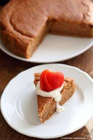 1 bowl strawberry cake vegan richa