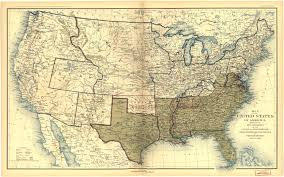 Picture Of A Map Of The United States Of America by Places In American Civil War History Maps Depicting Prologue To