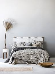 inca quilt cover set in steel grey aura home aw17 bedroom