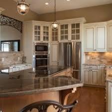 White With Brown Glaze Kitchen by Photos Hgtv