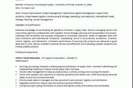 supply chain manager resume customer resume food runner resume 22
