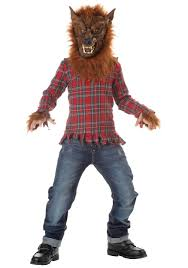 werewolf costumes kids scary werewolf costume