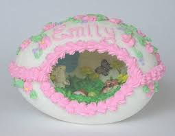 sugar easter eggs with inside www castlesandcarriages panoramic sugar easter egg