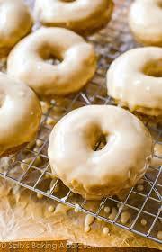maple frosting maple glazed donuts sallys baking addiction
