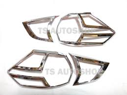 nissan accessories south africa chrome rear tail light lamp cover trim for new nissan x trail x