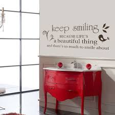 chambre marilyn garder le sourire marilyn sticker citation salon chambre wall