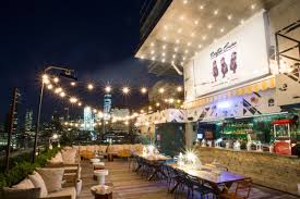 hotel hugo is hosting a free rooftop cinema series this summer