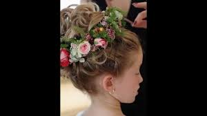 flowergirl hair flower girl wedding hairstyles