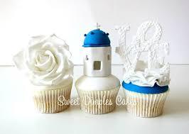 lighthouse cake topper nautical chic wedding cakes cake magazine