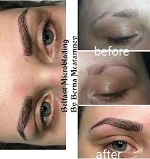 volkswagen eyelash microblading semi permanent eyebrows in dunmurry belfast
