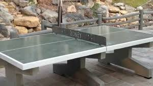 How To Make A Concrete Table by Concrete Table Tennis Youtube