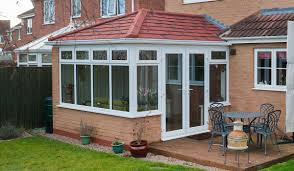 Kitchen Conservatory Ideas by Solid Roof Edwardian Conservatories Guardian Warm Roof
