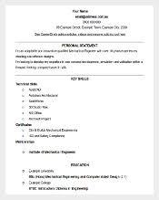 Maintence Resume 46 Best Resume Templates To Download Free U0026 Premium Templates