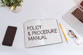 policy and procedure manual template u2014 healthedge training