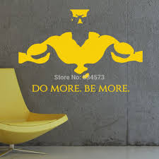 gym do more be more fitness wall art sticker decal diy home