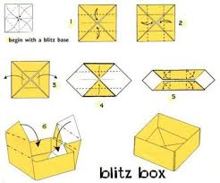 Paper Origami Box - how to make a origami paper box origami box with lid printable how