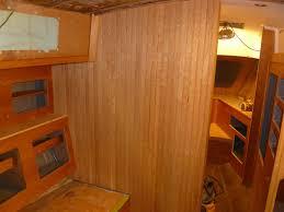 Unfinished Beadboard - northern yacht restoration