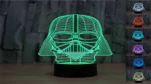 Lego Darth Vader Led Desk Lamp Star Wars Millennium Falcon 3d Light Table Lamp Desk Home Gadgets