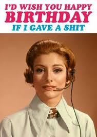 if i gave a happy birthday card rude rude