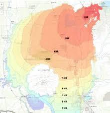 Floodplain Maps By Zip Code by Dam Inundation Maps California California Map