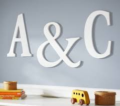 kids and nursery wall letters u0026 wall letter decals pottery barn