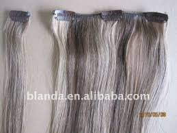 human hair in salt and pepper grey white clip in human hair extensions buy grey white clip in