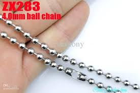 stainless steel ball necklace images Stainless steel bead chain silver tone ball chain bead chain jpg