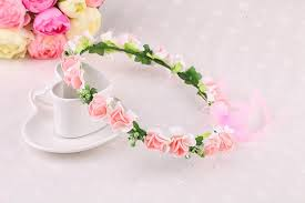 flower hair band fashion children s boho flower headband kids floral hairband