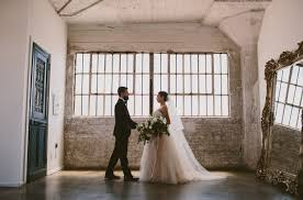 Loft Modern by Modern Loft Wedding In Downtown Los Angeles Andrea Cory Green