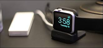 how nightstand mode works on the apple watch