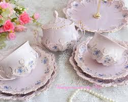 tea cup set tea cups sets etsy