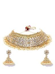 indian necklace set images Youbella jewellery bollywood ethnic gold plated jpg