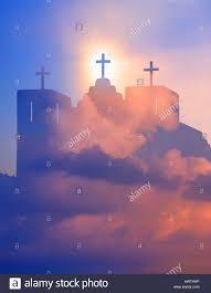 church crosses church with three crosses new mexico stock photo 16651725 alamy