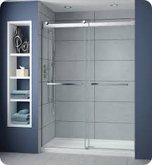 48 Shower Doors Fleurco Np148 Gemini Plus Frameless Bypass 48 Sliding Shower Doors