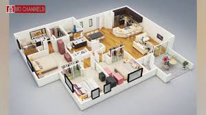 best 30 home design with 3 bedroom floor plans ideas youtube