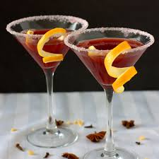 martini holiday mulled pomegranate martini experimental epicurean
