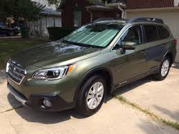 green subaru outback i u0027ve joined the cult 2016 outback 2 5 premium subaru outback