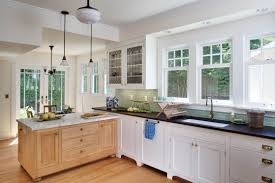 Different Styles Of Kitchen Cabinets Delorme Designs White Craftsman Style Kitchens