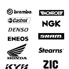 honda logos logos vector moto