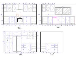 floor plan door symbols tag for l shaped kitchen plan n elevation in autocad tag for l