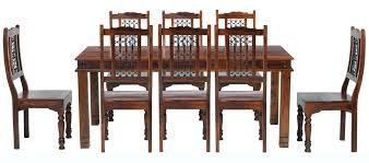 Extending Dining Table And 8 Chairs Amazing Oak Dining Table And 8 Chairs Cm Chunky Living Delectable