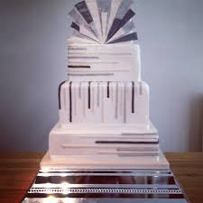 square wedding cakes cake based on a design by lael cakes