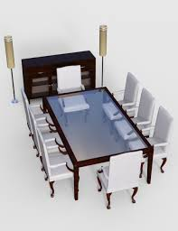 Furniture And Things by Furniture Set 5 Classy Dining Furnitures 3d Models And 3d