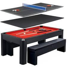 pool table combo set park avenue 7 ft pool table combo set walmart canada