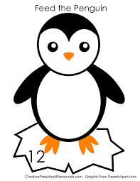 feed the penguin game creative preschool resources