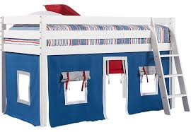 Bunk Bed Fort Freedom Fort White Jr Tent Loft Bed Bunk Beds White