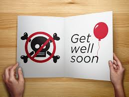 get well soon cards don t die get well soon card moar stuff you don t need