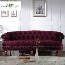 Tufted Sofa Cheap by Online Get Cheap Blue Tufted Sofa Aliexpress Com Alibaba Group