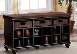 storage bench for shoes home decorating interior design bath