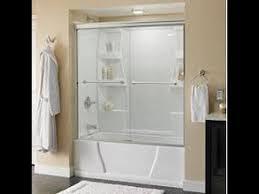 Shower Sliding Door How To Install Delta Tub And Shower Sliding Glass Doors
